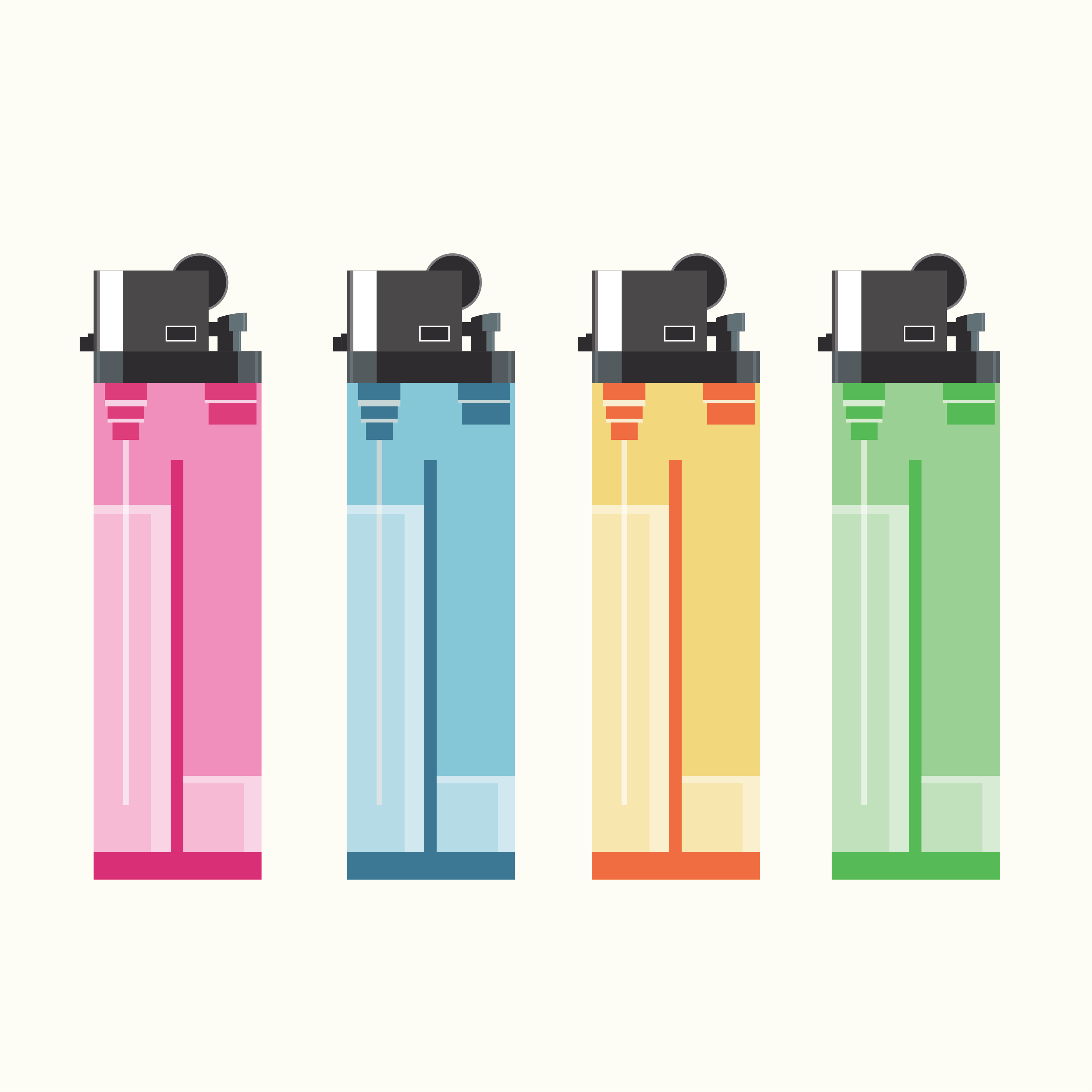 Lighters Concept on