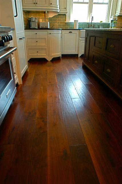 Random Width, French Country Walnut, Hand Scraped, Signature Finish - - wood flooring - charleston - by Burchette & Burchette Hardwoods