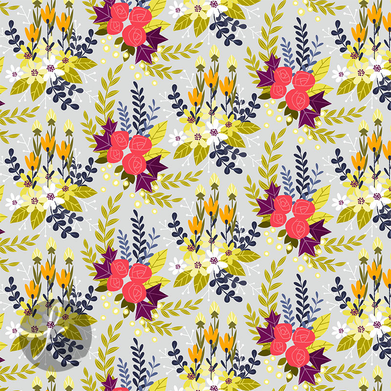 Floral Pattern 01 on