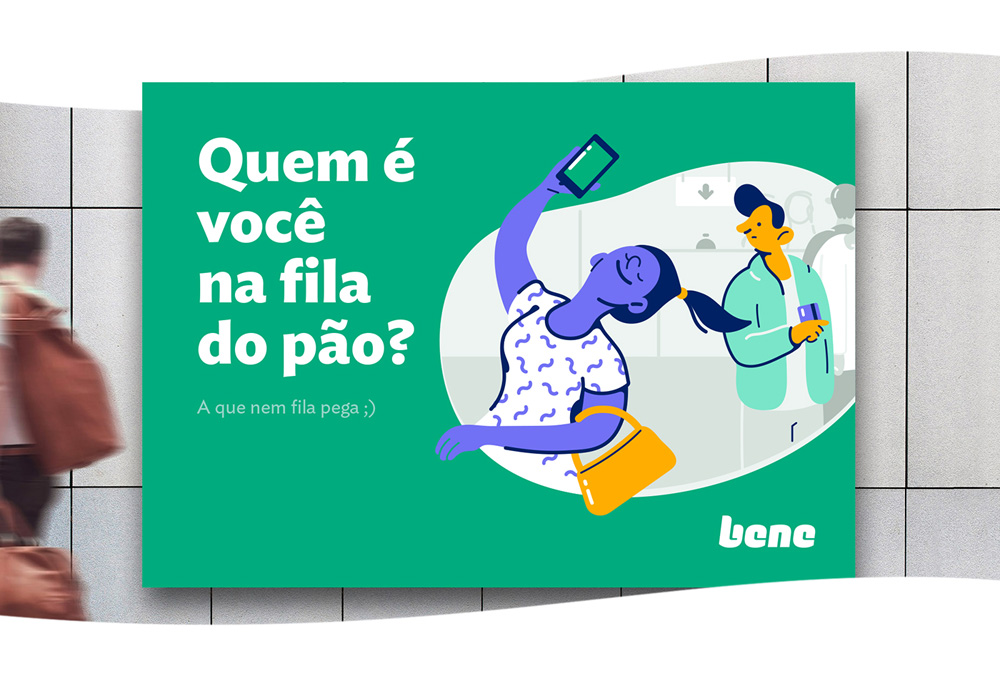Brand New: New Logo and Identity for Bene by Plau