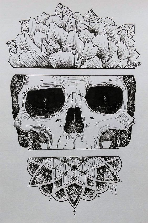 Sugar Skull by Mathilde Jakobsen on Inspirationde