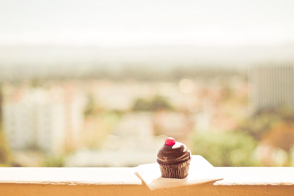 All sizes | Chocolate Cherry Cupcake | Flickr - Photo Sharing!