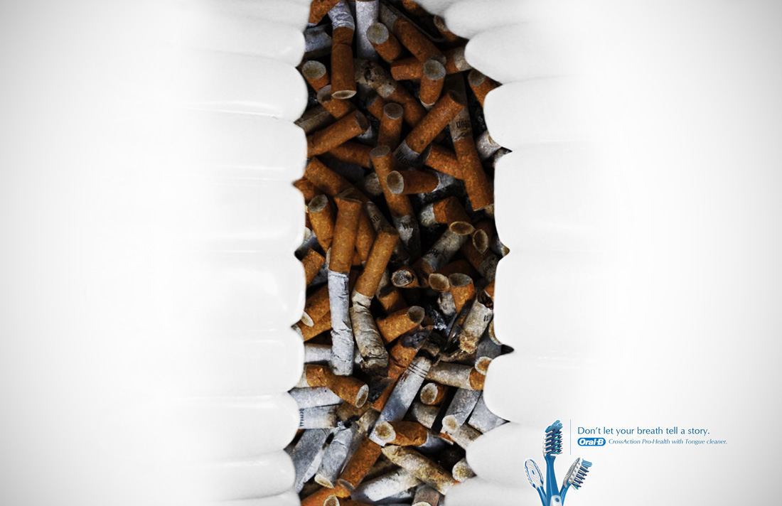 "Oral-B: Cigarette | Ads of the Worldâ""¢"