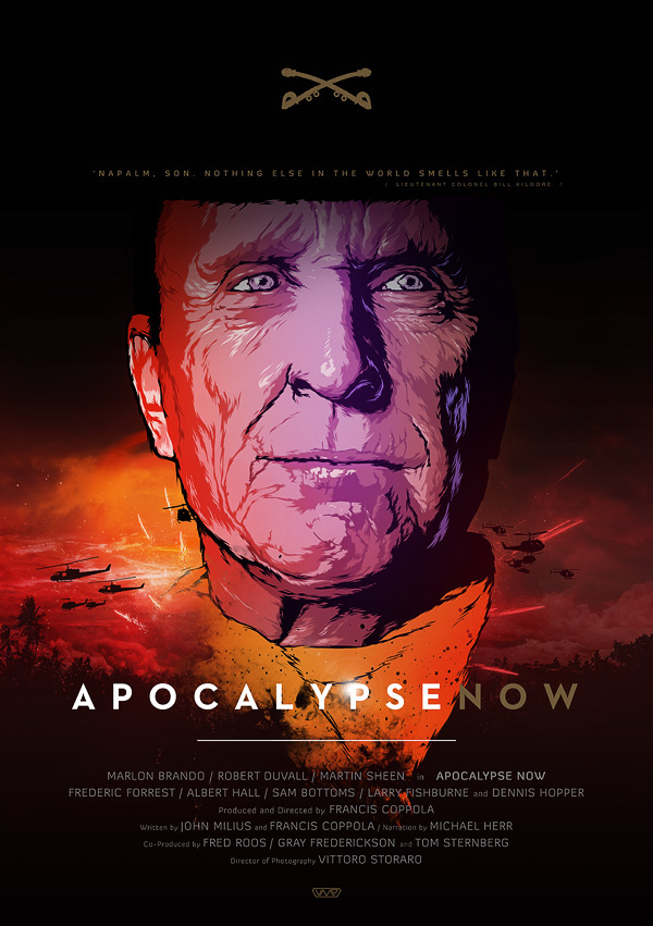 APOCALYPSE NOW / Vector Movie Posters on Inspirationde