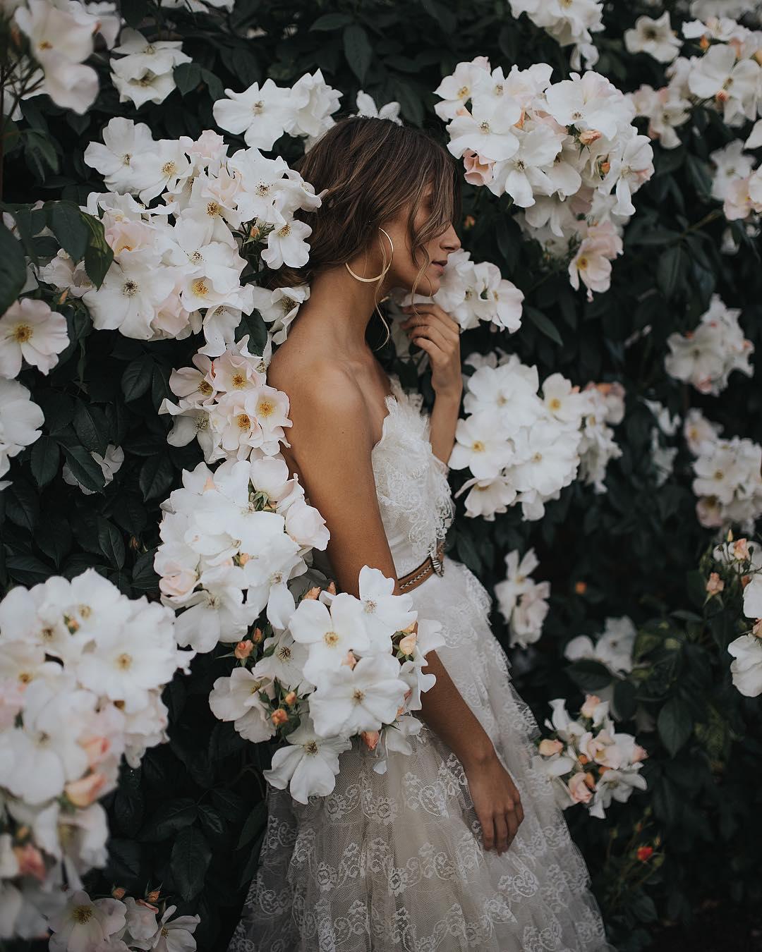 Gorgeous Flower Portrait Photography by Paarsa Hajari