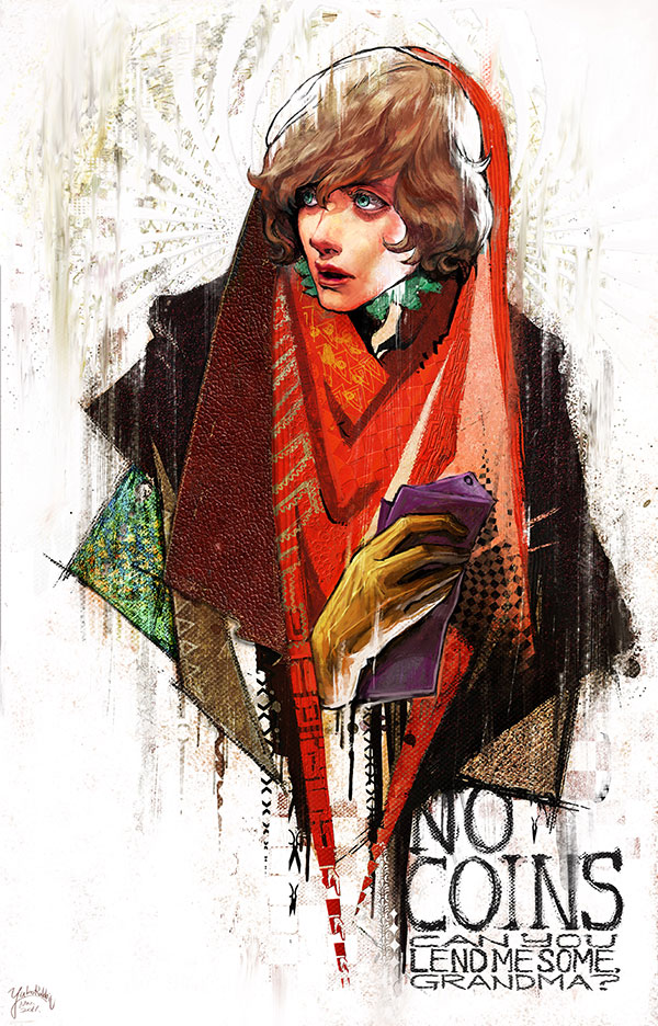 20 Astonishingly Expressive Paintings by Yuko Rabbit | Digital Art