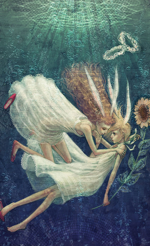 20 Astonishingly Expressive Paintings by Yuko Rabbit | Digital Art