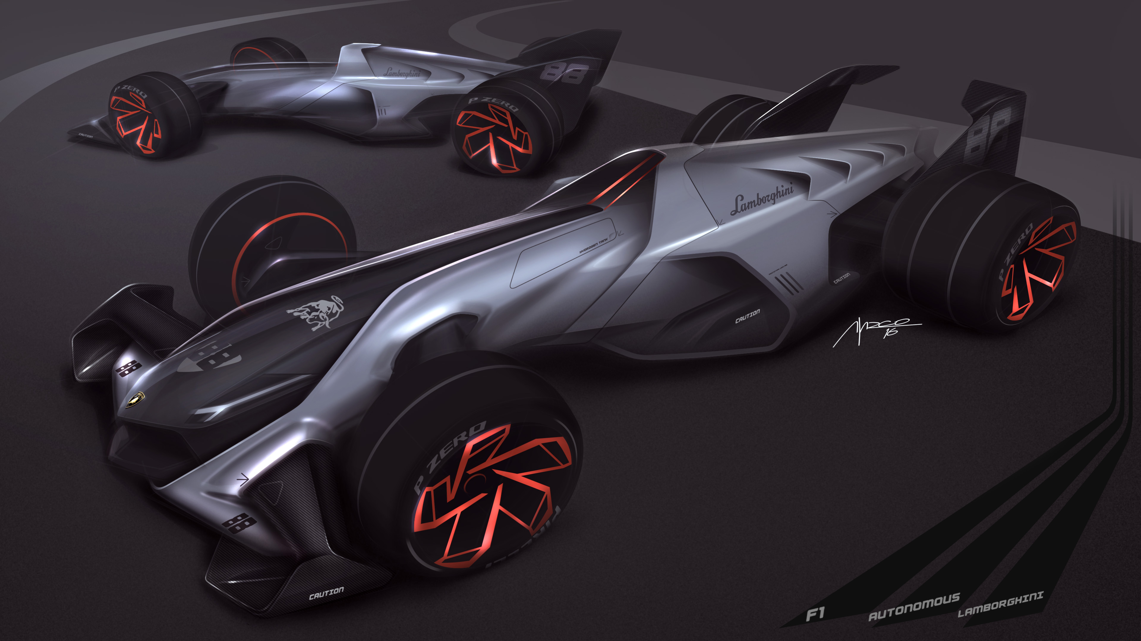Lamborghini on