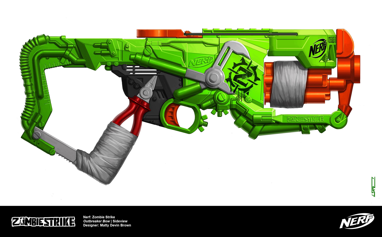 Nerf - Zombie Strike: Outbreaker Bow on