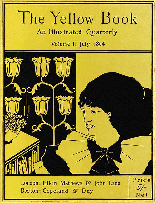 The Yellow Book, Vol. 2—Cover – Old Book Illustrations