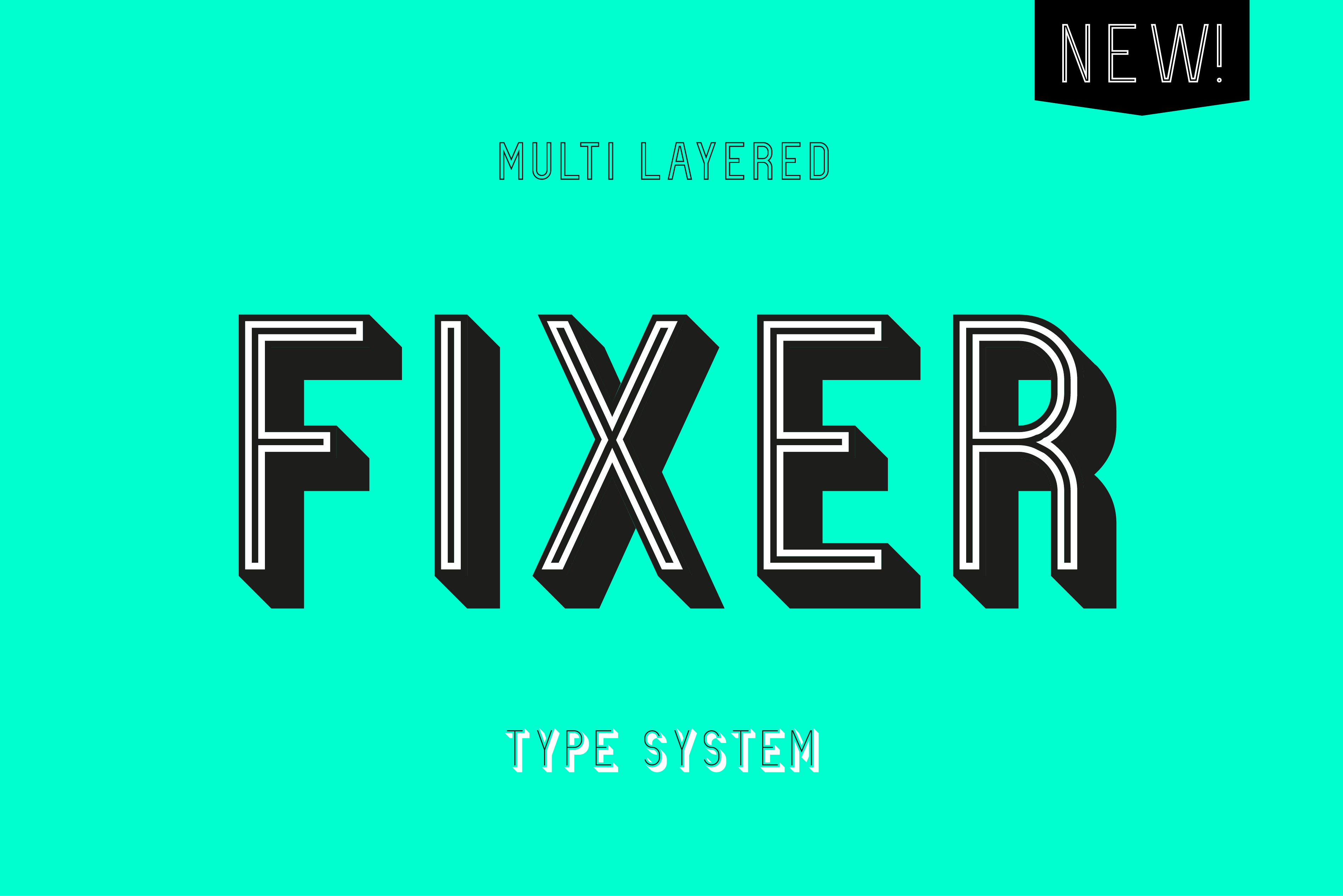 Fixer - Free Font on
