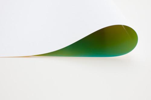 Contemporary Art Blog | Wolfgang Tillmans, Paper Drop green II, 2011