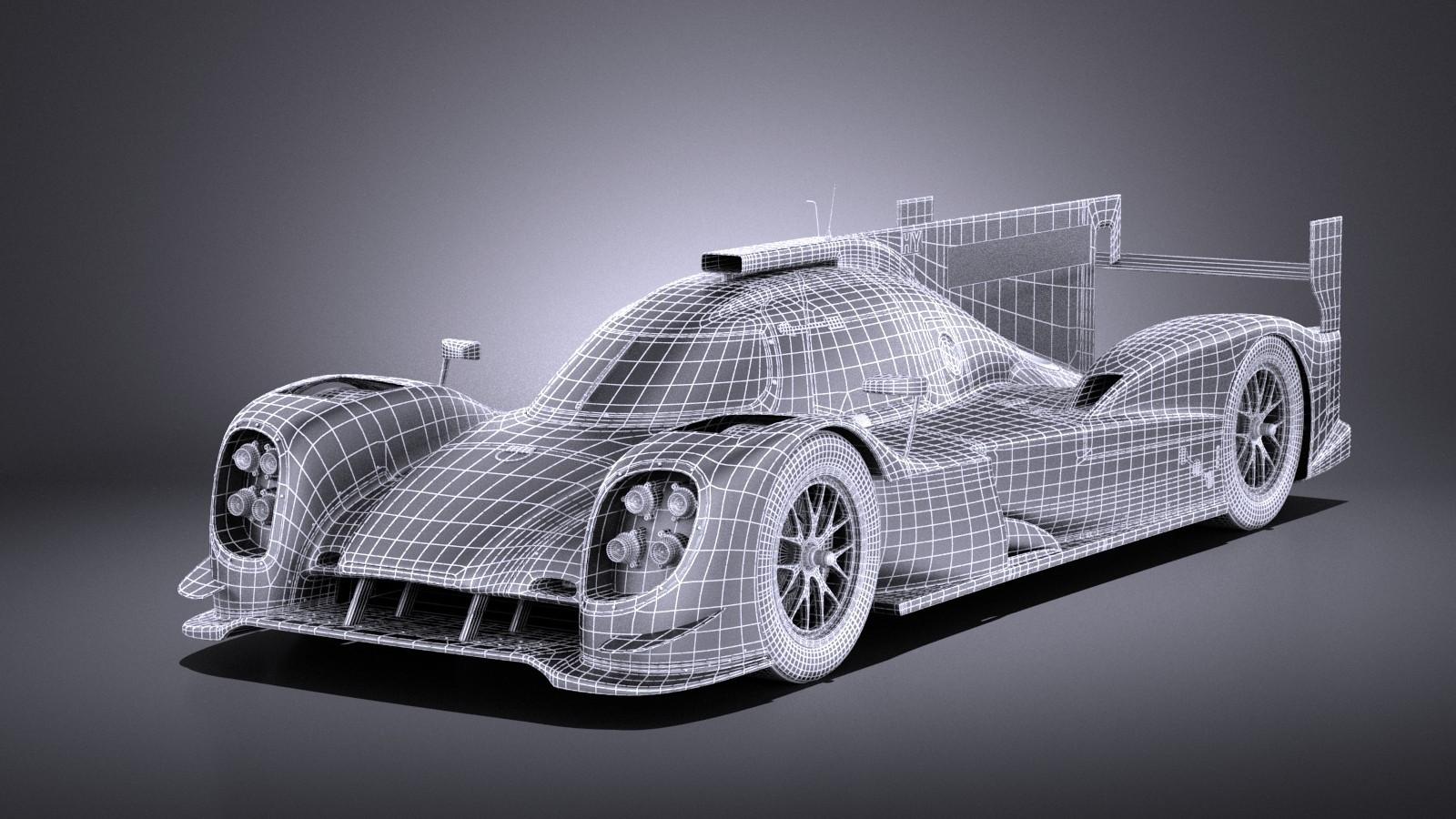 Porsche 919 Hybrid 2016 VRAY