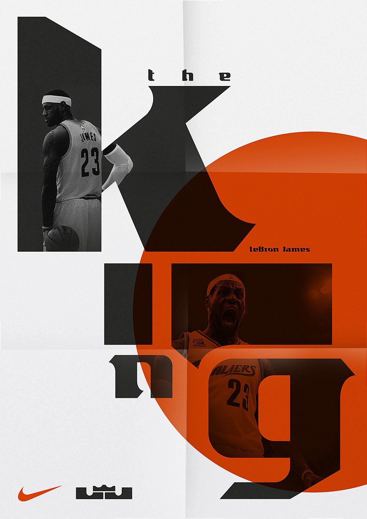 LeBron James — Display Typeface on
