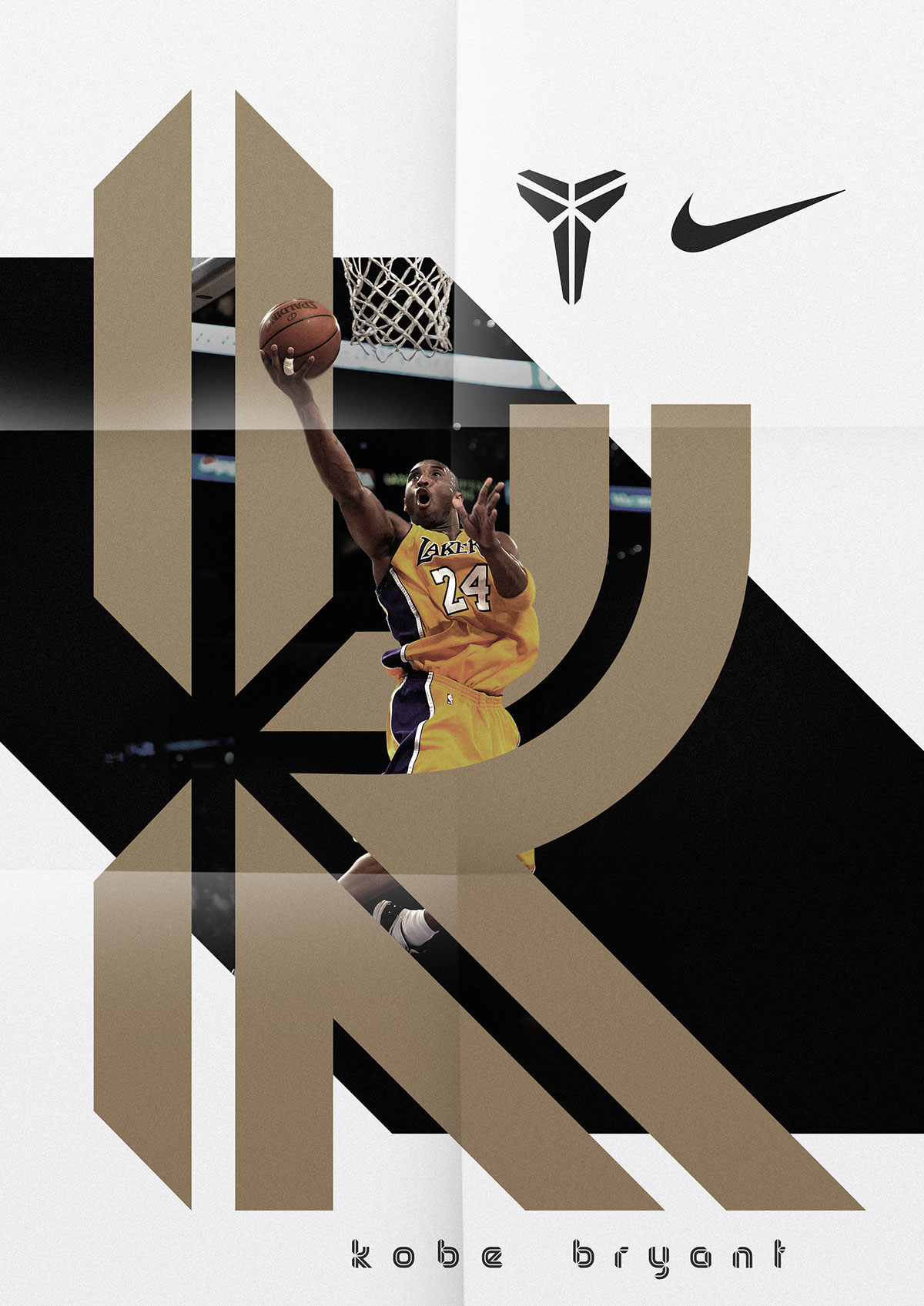 Kobe Bryant — Display Typeface on