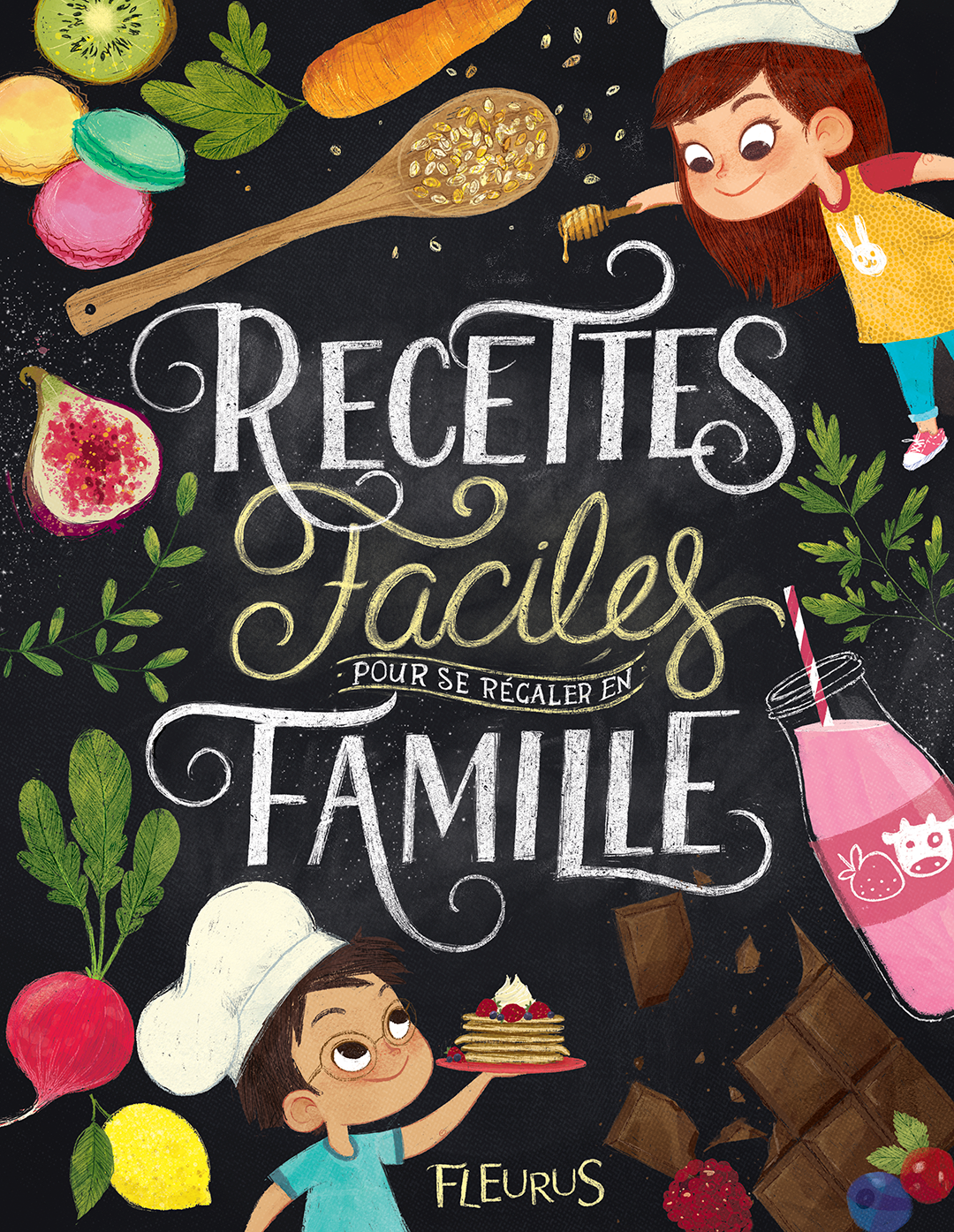 Children's Cookbook for Fleurus Editions on