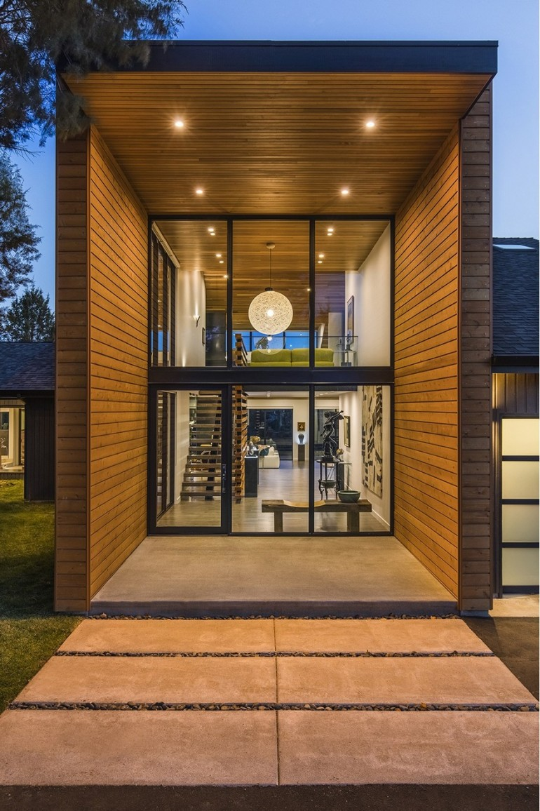 Redmond Ranch Gets Three Modern Additions and Stylish Interiors on Inspirationde