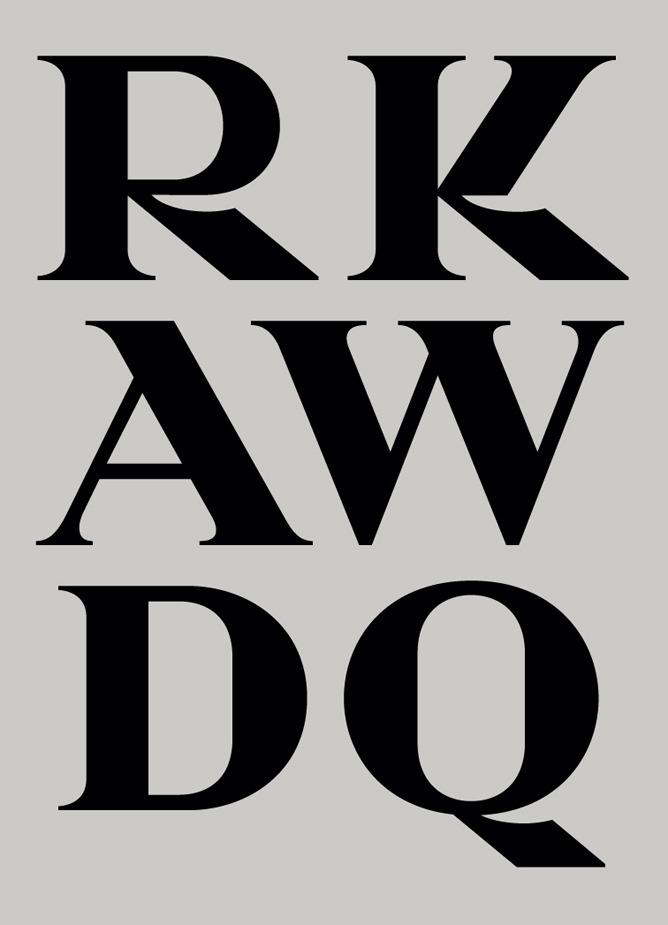 Prada typeface by Alias on Inspirationde