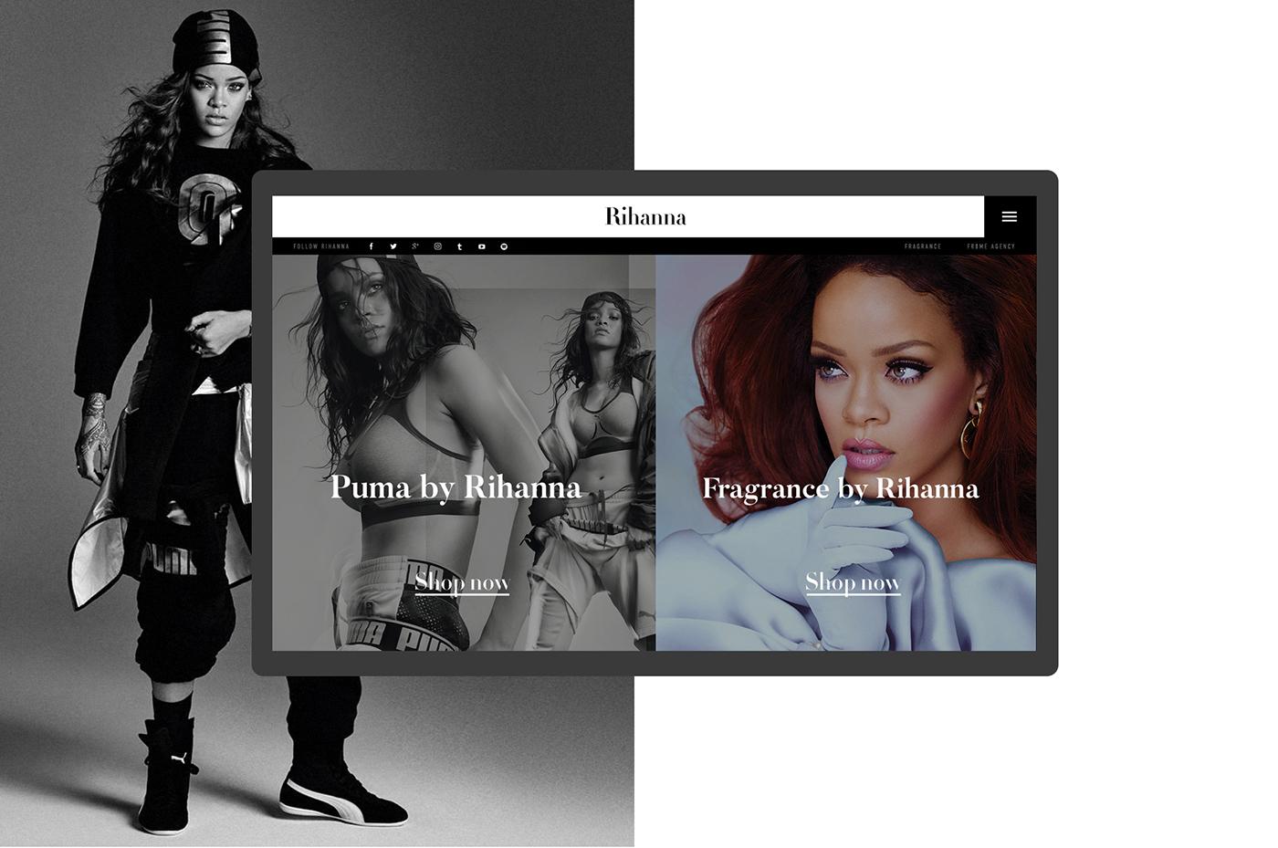 Rihanna - Official website on
