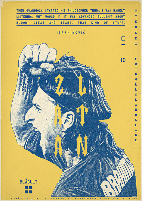 Sucker for Soccer: Football Posters by Graphic Designer Zoran Luci? on Inspirationde