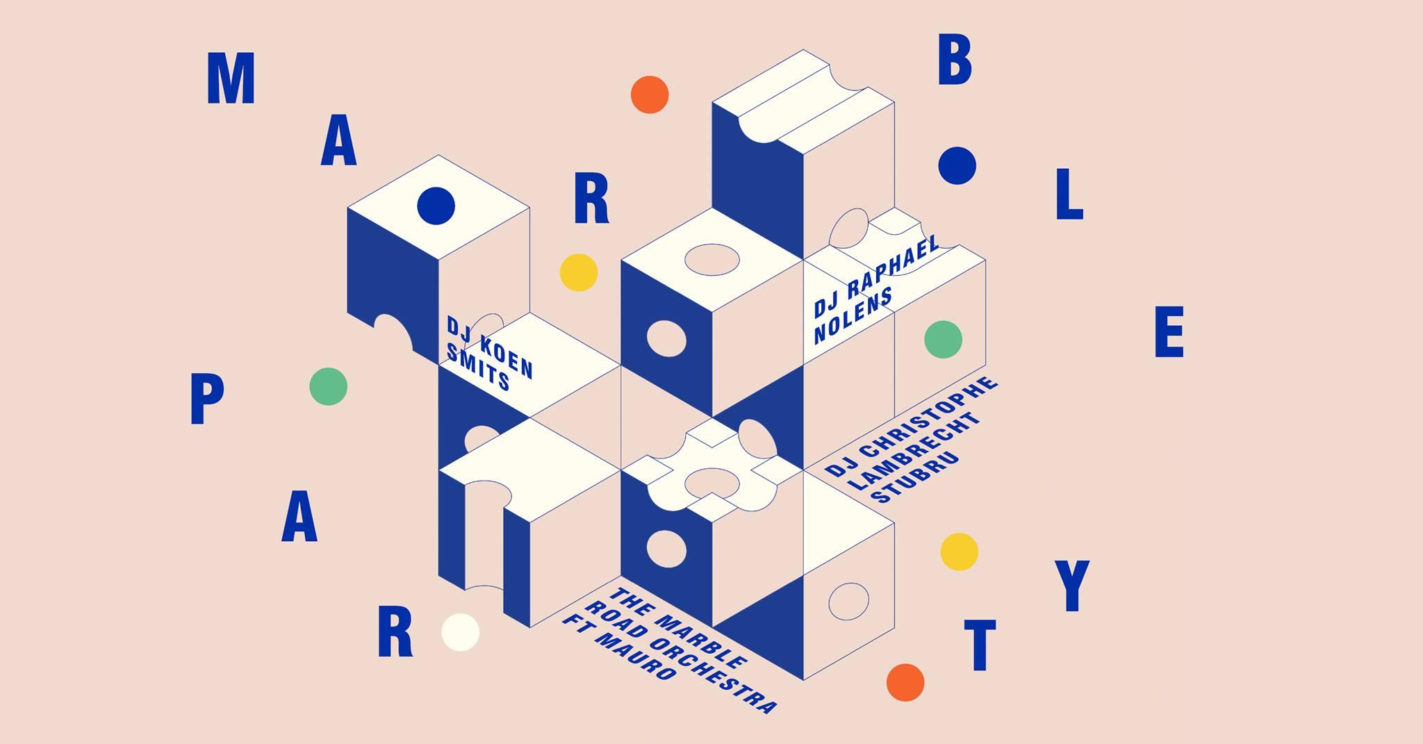 Marble Party ft Mauro, DJ Christophe Lambrecht