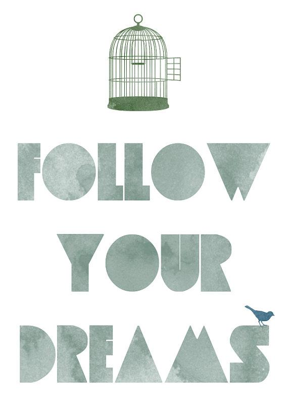 Dreams Print by vaporqualquer on Etsy