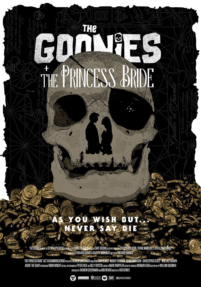 THE GOONIES + THE PRINCESS BRIDE DOUBLE SESSION on Inspirationde