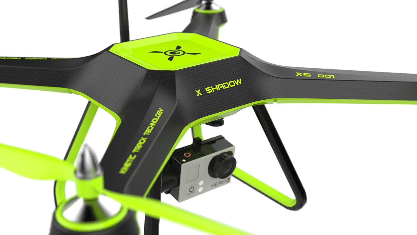 X SHADOW - Personal extreme sports drone on