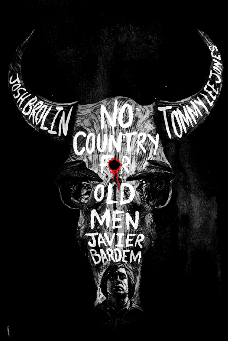 No Country for Old Men Alternative Film Poster on Inspirationde