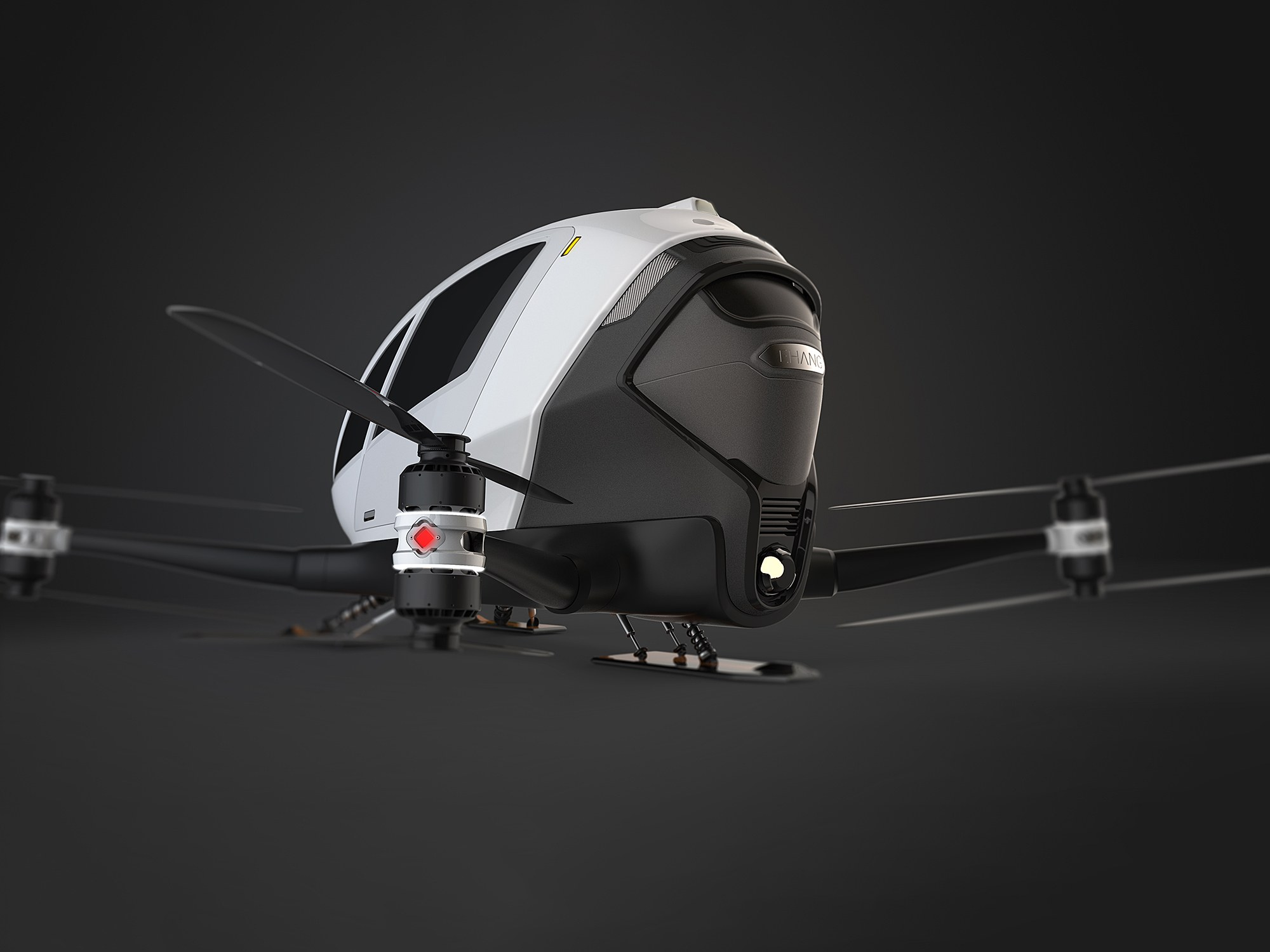 That Crazy People-Carrying Drone Is About to Start Testing   WIRED