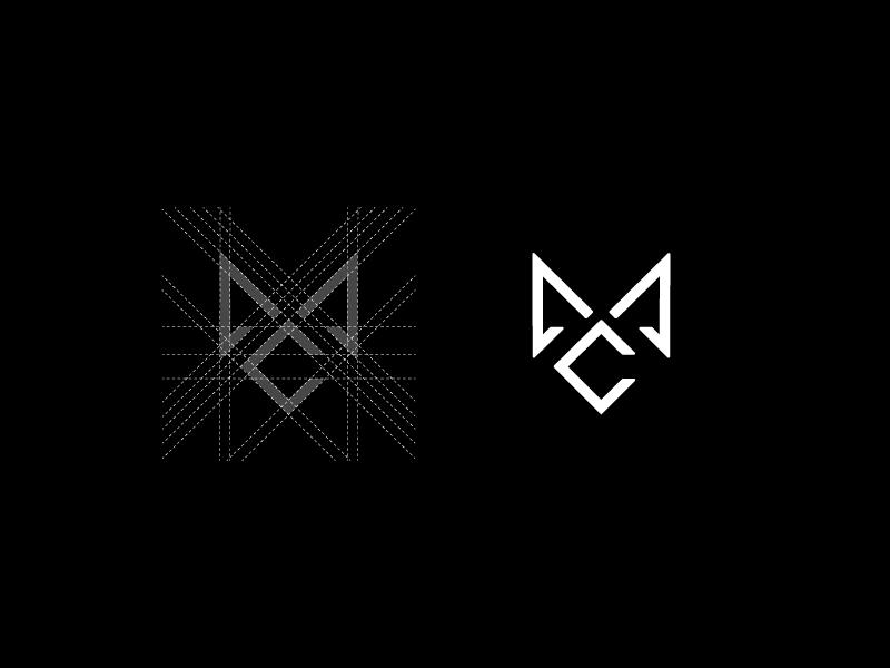 M & C Monogram Design by Farooq Shafi on Inspirationde