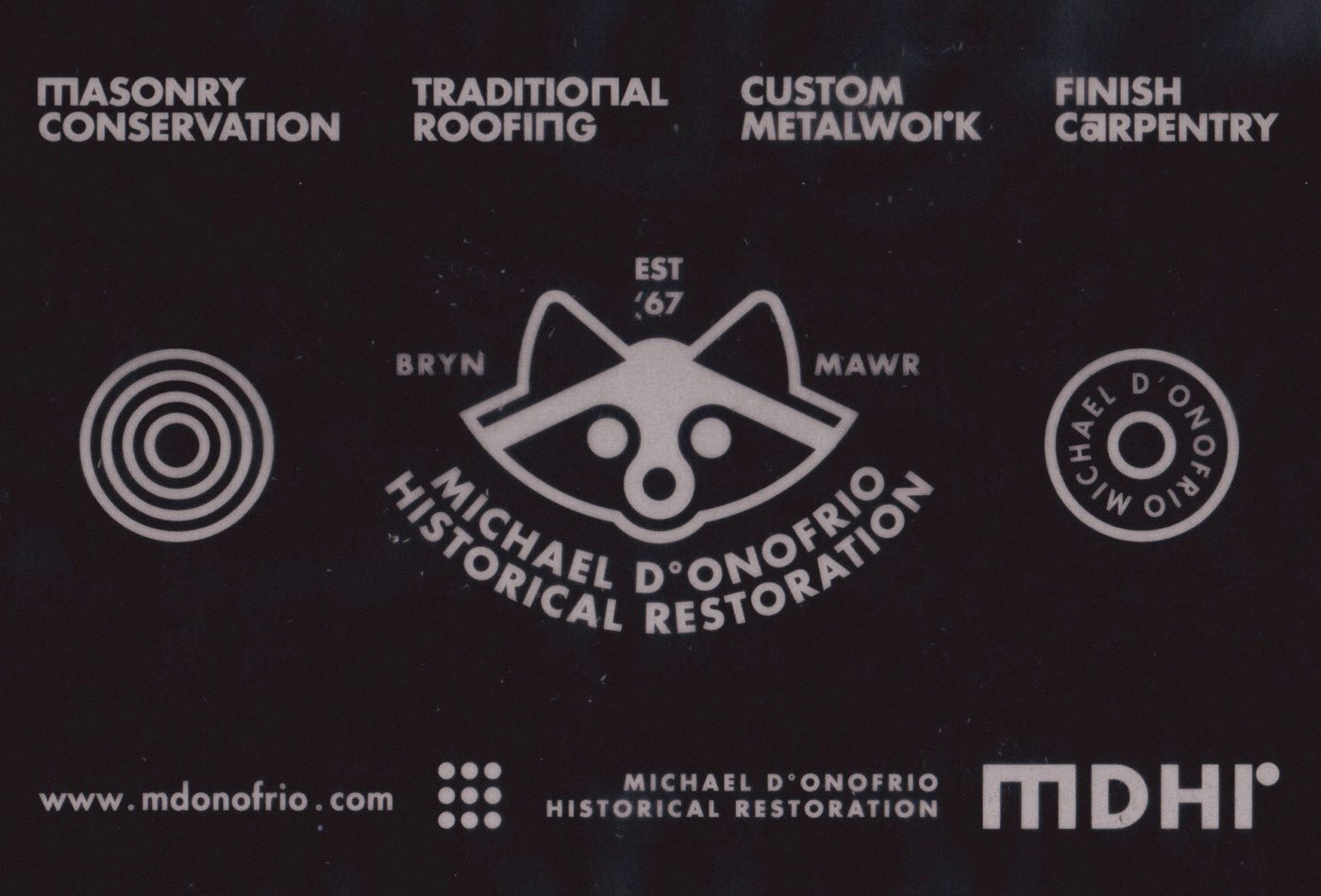 MICHAEL D°ONOFRIO HISTORICAL RESTORATION on