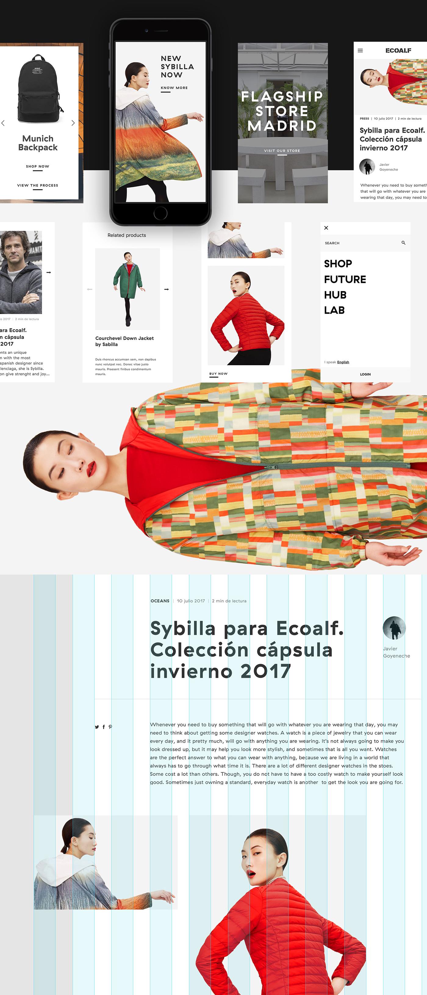 Ecoalf. Digital Product on
