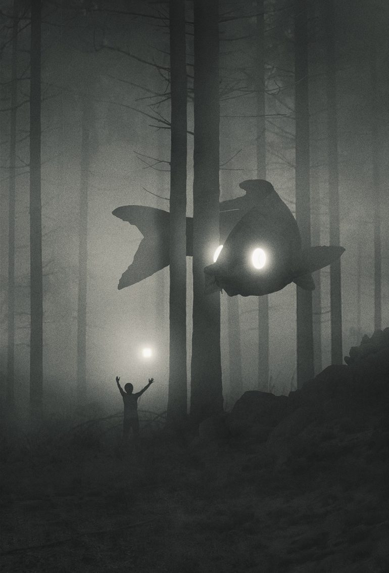 Explore Dawid Planeta's Mystical World of Bright-Eyed Animal Guides on Inspirationde