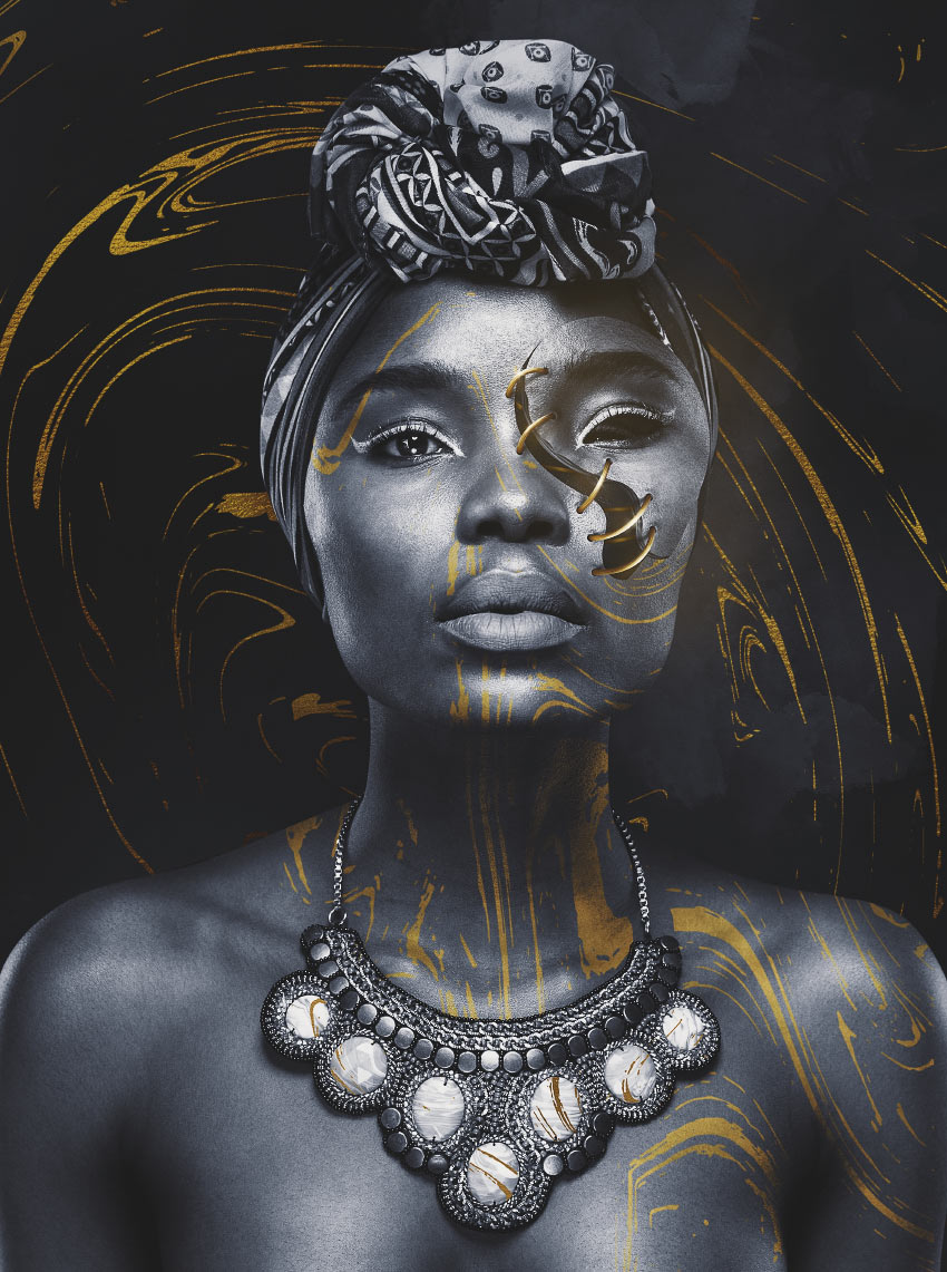 How to Create a Surreal Stitched Portrait in Adobe Photoshop on Inspirationde