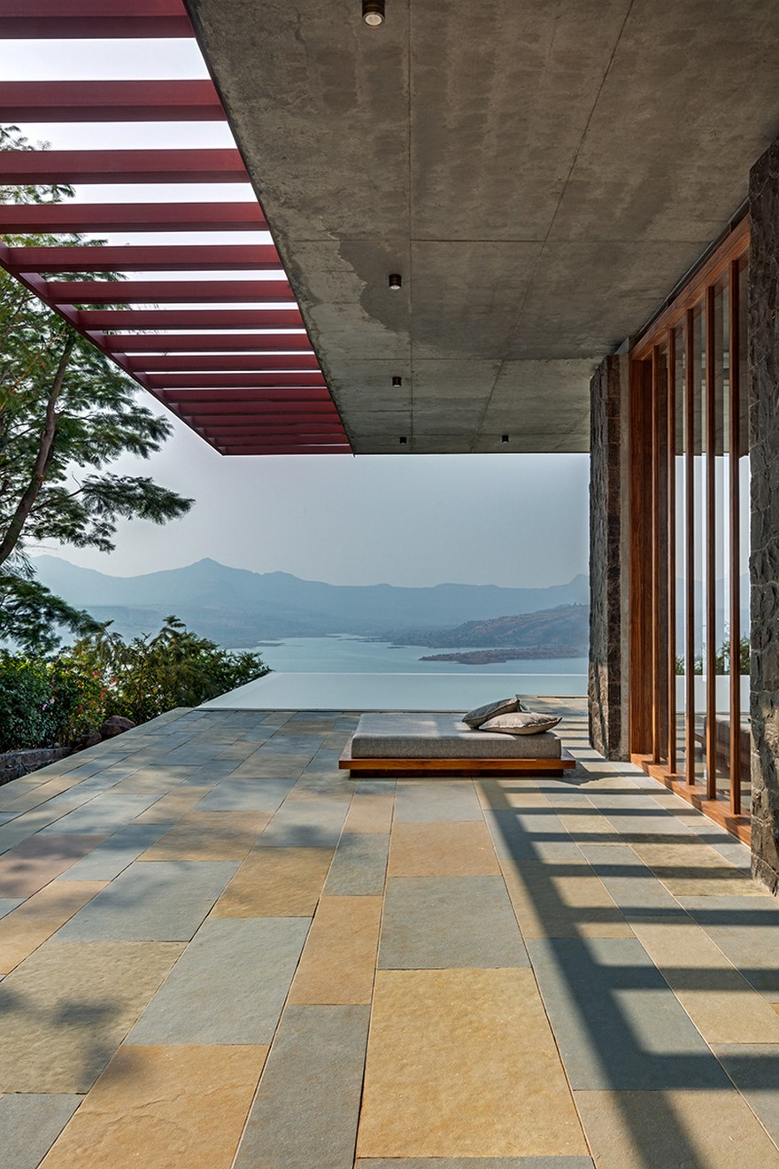 Single Level Pavilion Build as a Retreat to Escape the Frenetic Pace of Mumbai Life on Inspirationde