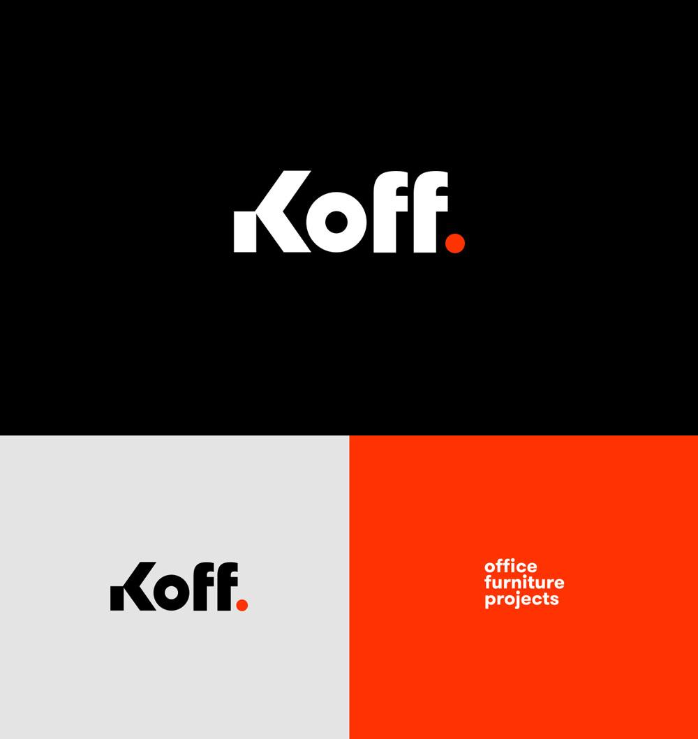 Koff. | Graphic ID & Branding on Inspirationde