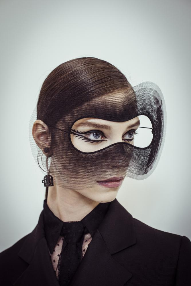 Christian Dior Haute Couture   Stephen Jones millinery on Inspirationde