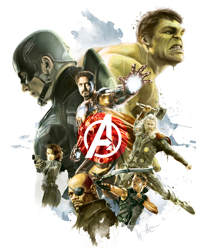 The Avengers by Alberto Reyes Francos on Inspirationde