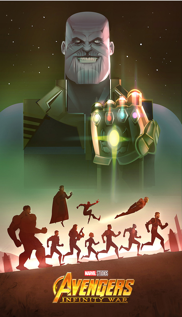 Avengers: Infinity War by Cristhian Hova on Inspirationde