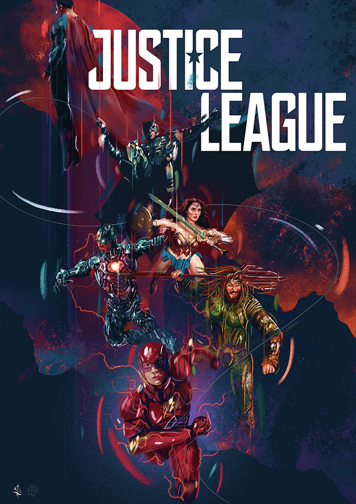 Justice League by Luke Butland on Inspirationde
