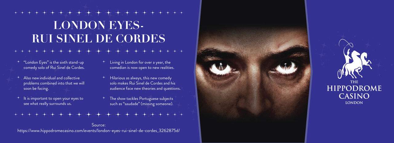 Hippodrome Casino — London Eyes - Rui Sinel de Cordes
