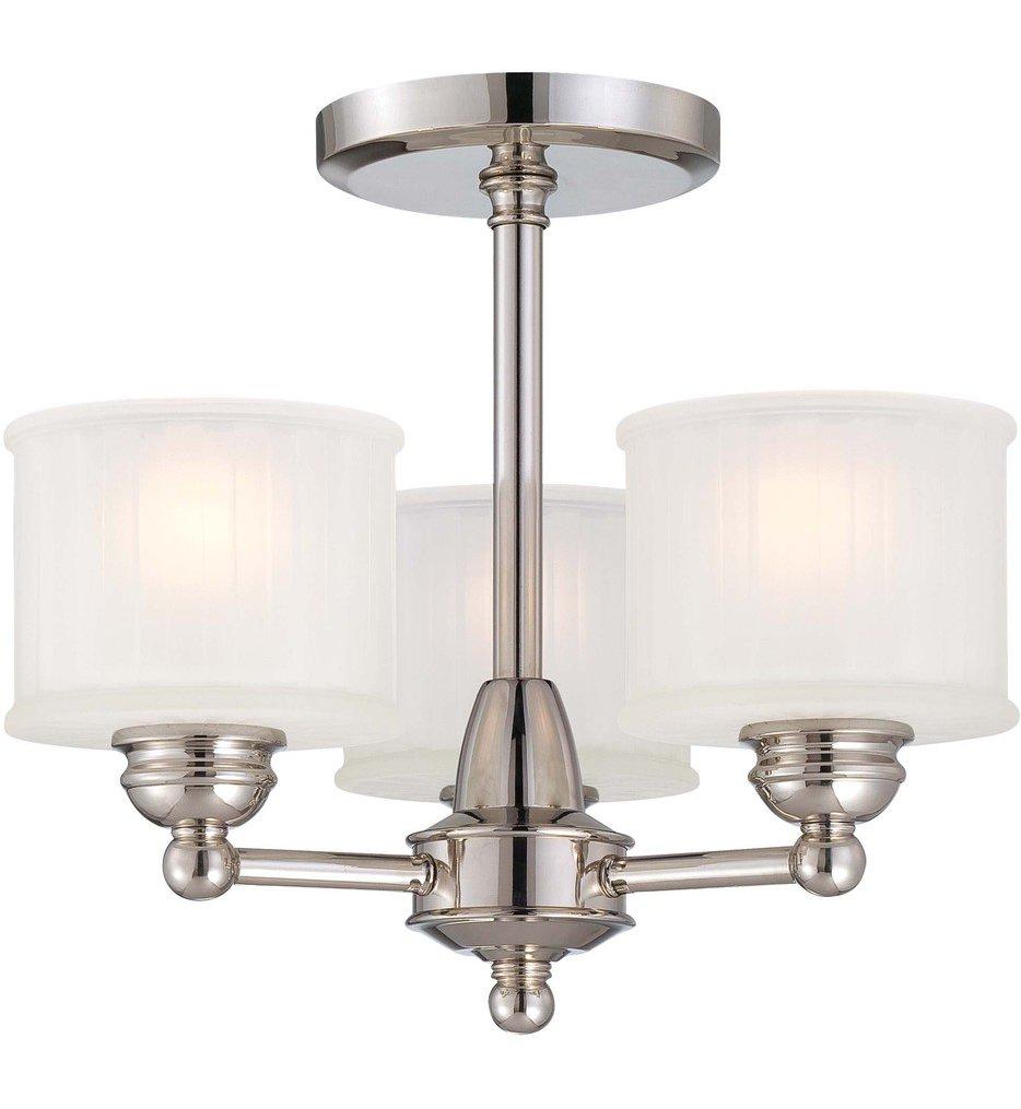 Minka-Lavery - 1730 Series 3 Light Semi Flush Mount   Lamps.com