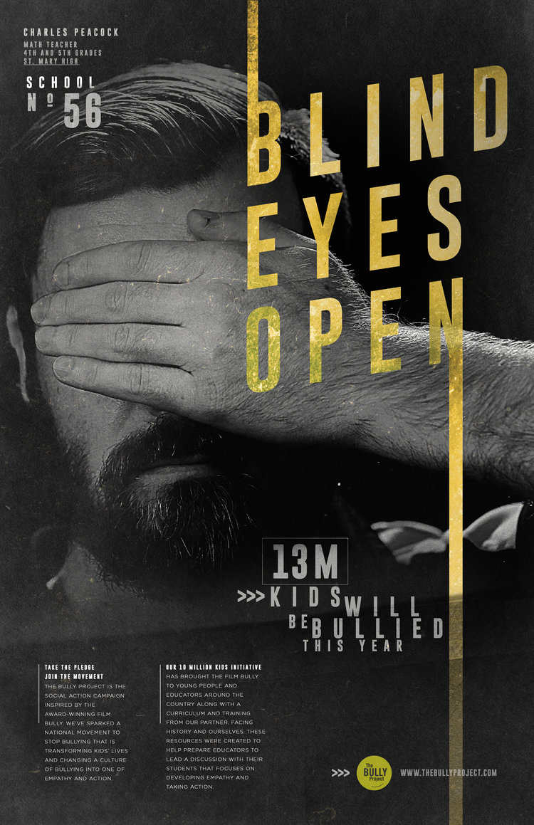 BLIND EYES OPEN - Anti-Bullying Campaign on Inspirationde