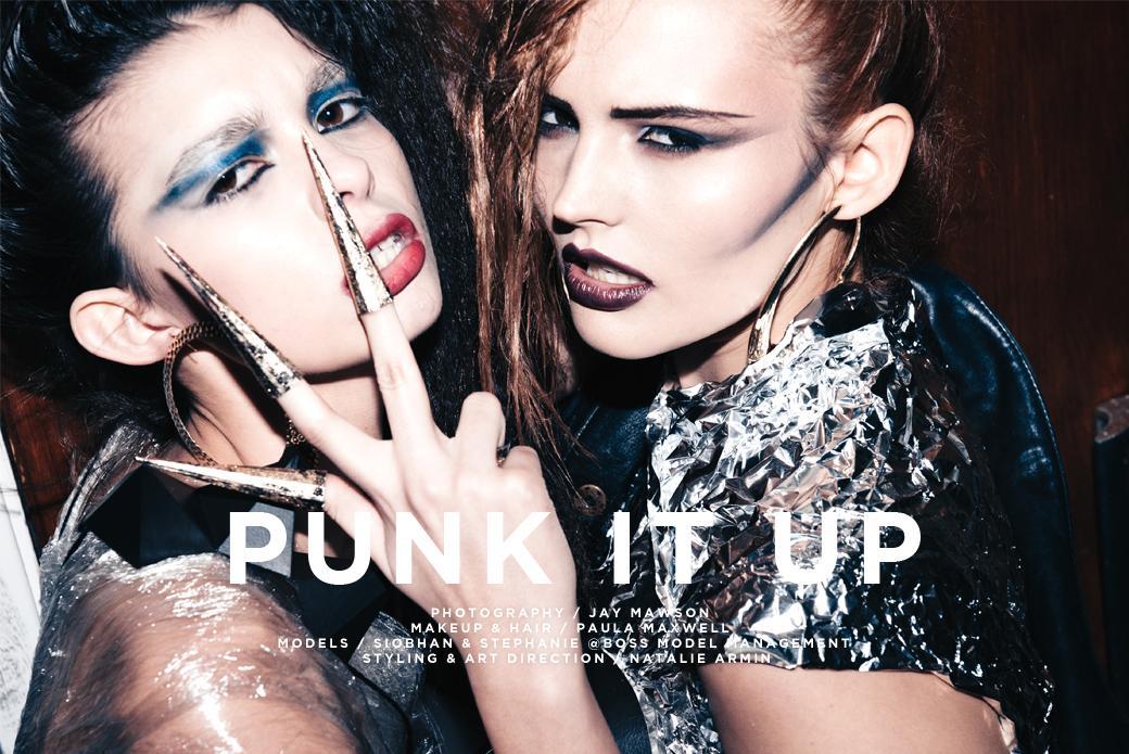 Punk It Up, fashion editorial by Jay Mawson