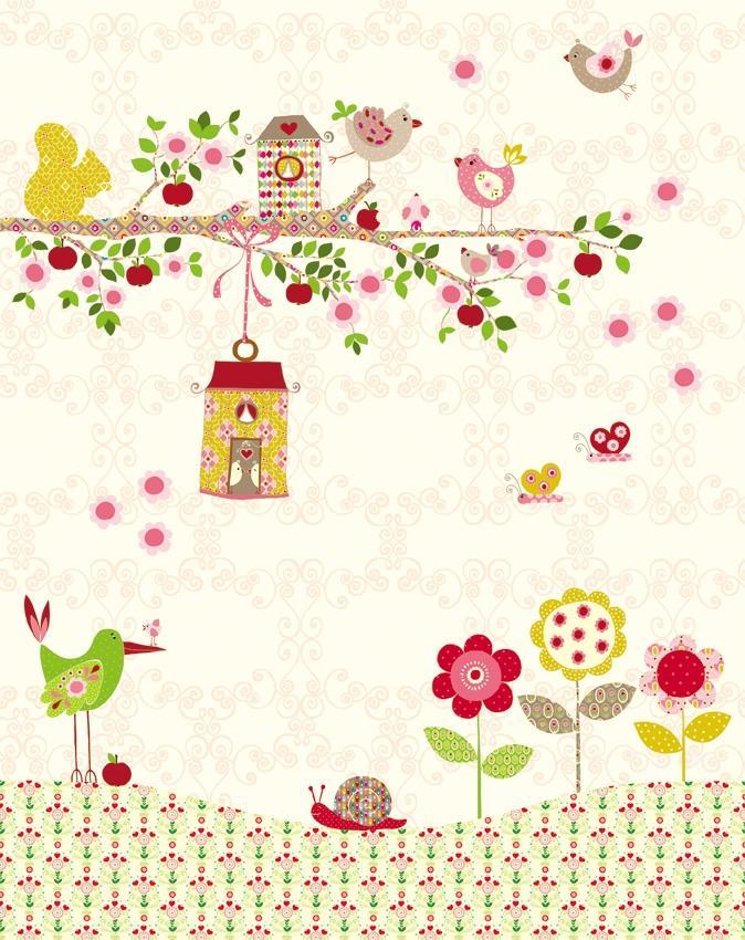 Jacky Joe Walldesign GmbH | Miki.Niki Walldesign for Kids | Birdsong
