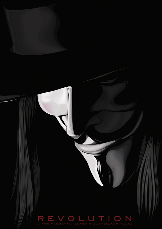 REVOLUTION - V FOR VENDETTA