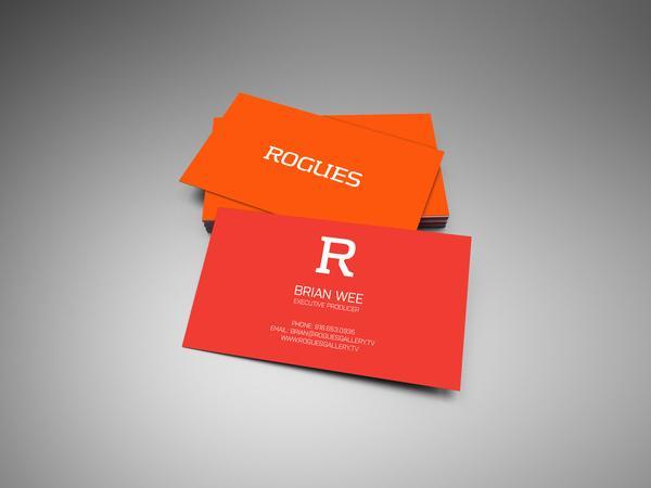 Rogues Gallery branding