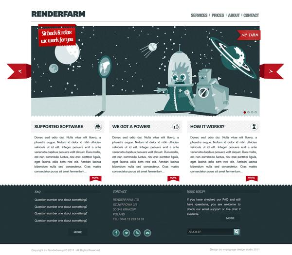 Renderfarm website