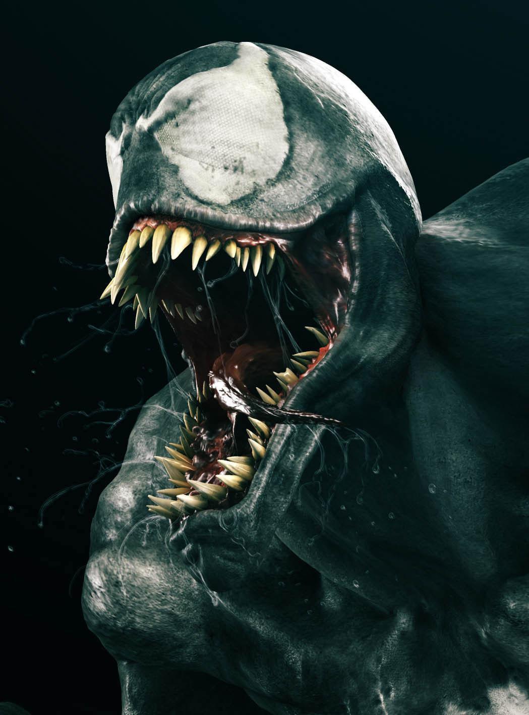 Portrait Art: Venom - 3D, Concept art, Portrait